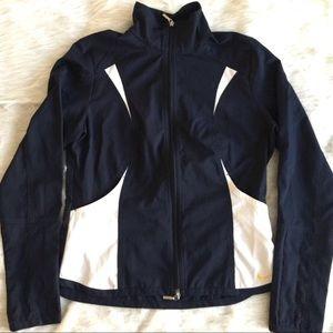 ✂️NIKE Dri-Fit Navy Blue Front Zip Jacket